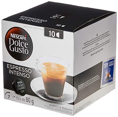 Nescafe Dolce Gusto, Espresso Intenso, 10 Cápsulas