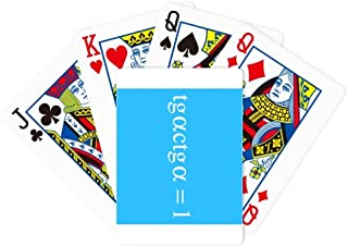 Mathematical Formula Representation Computation Multiplication Poker Playing Magic Card Fun Board Game