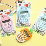 FairOnly 12-stelliger Karottenrechner Mini Portable Cute Scientic Calculater für die Schulprüfung...