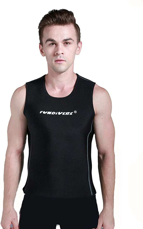 QYY Tauchanzug Weste, 3 MM rmellose warme Weste Mode Tauchanzug geeignet für Schwimmen Tauchen Schnorcheln Surfen