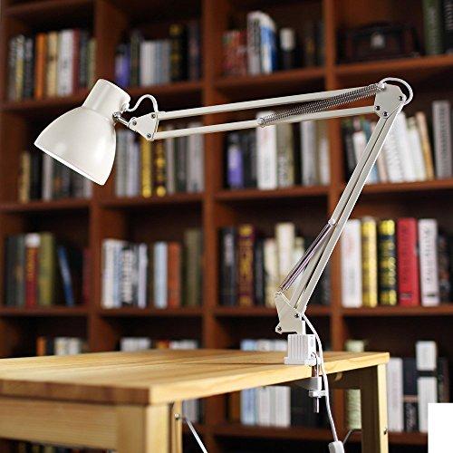 ToJane Swing Arm Desk Lamp,Architect Table Clamp Mounted Light,...