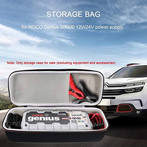 Goodtimera Eva Hard Case Tragetasche Kompatibel Mit NOCO Genius G7200 12V 24V Lithium Jump Starter