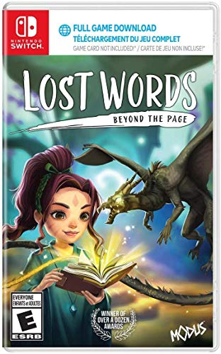 Lost Words: Beyond The Page (NSW) (Game Download Code In Box) - Nintendo Switch