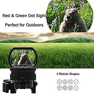 Beretac Red Dot Reflex Sight with 4 Different Reticles and Quick Release gun sight for holographic sights Mil-Spec Optics