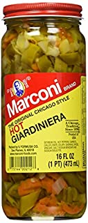 Marconi Hot Giardiniera, 16 Ounce (B015SGESVC)   Amazon price tracker / tracking, Amazon price history charts, Amazon price watches, Amazon price drop alerts