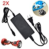 Hendont 2X Power Adapter Charger for Smart Self Balancing Scooter Cost-Effective US Universal Power Charger for Electric Scooter