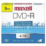 Maxell 638002 DVD-R Discs, 4.7GB...