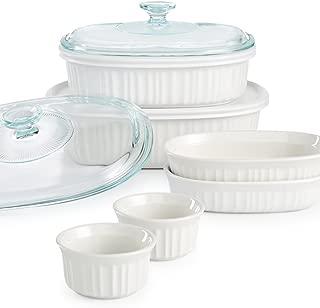 Corningware French White 10 Piece Oval Set