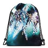 Gundam 機動戦士ガンダム ナップサック ジムサック スポーツバック ライトバック バッグ 通勤 通学 巾着袋 防水仕様 アウトドア 軽量 男女兼用 令和グッズ