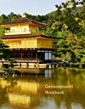 Genkouyoushi Notebook: Large Japanese Writing Practice Book 11