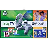 LeapFrog LeapTV Educational Active Video Gaming System Multiplayer...