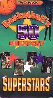 Basketball's 50 Greatest Superstars 2 Pk Sport VHS