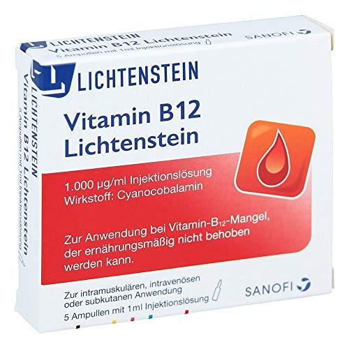 Lichtenstein Vitamin B12 1000 µg Ampullen, 5 St.