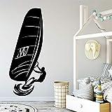 Zdklfm69 Adhesivos Pared Pegatinas de Pared Papel Pintado Autoadhesivo de Vinilo de Surf de Moda Papel Tapiz de decoración de Fiesta en casa 54x128cm