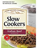 Orrington Farms Beef Slow Cooker Mix, Italian, 2.1 Ounce (Pack of 12)