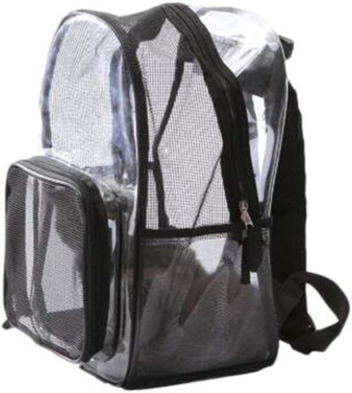 Pet Bag Summer Portable Ventilation Small Dog Bag Transparent Cat Bag Spaceship Backpack DualPurpose Large Size