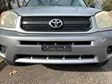 Front License Plate Tag Holder Mounting Mount Adapter Bumper Kit Brackets for Toyota (All Models) Quantity Discount (9.45$ to 5.60$) (Each with 6 Screws + 2 Built in Nuts) New (1)