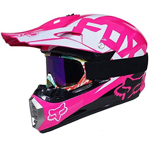 Casco Motocross Eduro ECE Homologado - YEMA YM-915 Casco de