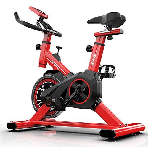RLF LF Bicicleta Estática para El Hogar Bicicleta De Spinning, Bicicleta Estática Vertical con Pantallas LCD Súper Silenciosas, Resistencia Infinita Equipo De Ejercicios