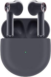 gooplayer para OnePlus Buds TWS Wireless Earphones Bluetooth 5.0 Cancelación de Ruido Ambiental 30 Horas de Resistencia (Negro)