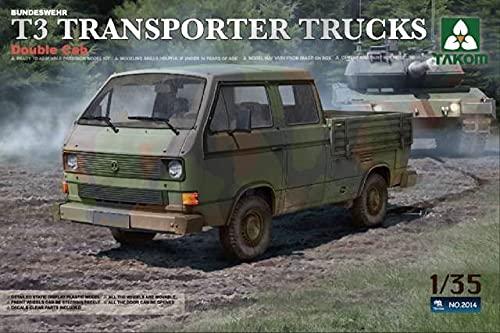 Takom 1:35 - Volkswagen VW T3 Transporter Pick-up with Crew Cab