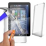 Theoutlettablet® Protector Cristal Templado Universal Compatible con Tablet SPC Glee 10.1' / SPC Dark Glow 10.1' / SPC Blink 10.1'