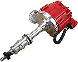 Dragon Fire High Performance Race Series Complete HEI Electronic Ignition Distributor Compatible Replacement For Ford FE 332 352 360 361 390 391 406 410 427 428 V8 With 1/4