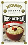 McCANN'S Instant Irish Oatmeal, Regular Flavor, 12-Count Boxes (Pack of 6)