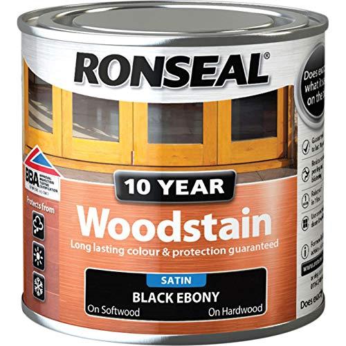 Ronseal 10 Year Woodstain Black Ebony 250ml