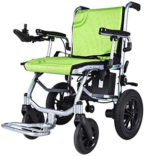 SOAR Electric Wheelchair Elektrorollstuhl Älterer elektrischer Rollstuhl, Leichter und Faltbarer Mobilitätsauto mit EPBS-Höchsthilfssystem, 360 ° Joystick, behinderter selbstfahrender Rollstuhl