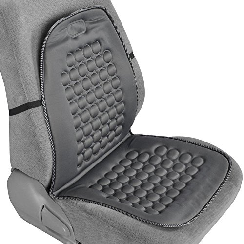 Magnetic Bubble Seat Cushion - Massage Therapy - 1pc Padded Cover (Gray)