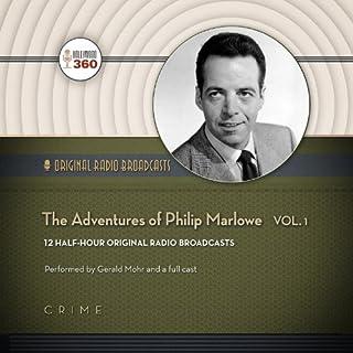 The Adventures of Philip Marlowe, Volume 1 audiobook cover art