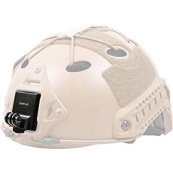 NVG 360° Rotating Helmet Front Mount Head Camera Bracket for GoPro Hero-3-4-5-6