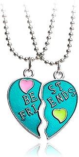 Best two heart necklace splits Reviews