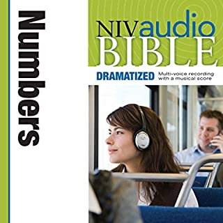 Dramatized Audio Bible - New International Version, NIV: (04) Numbers audiobook cover art