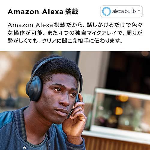 BOSENOISECANCELLINGHEADPHONES700ワイヤレスノイズキャンセリングヘッドホンAmazonAlexa搭載トリプルブラック