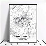 Wsxyhn Zoetermeer Enschede Deventer Niederlande Karte