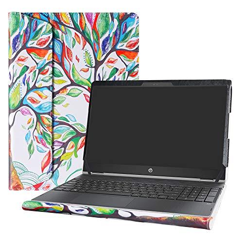 Alapmk Protective Case for 15.6 HP Pavilion X360 15 15t 15-crXXXX 15-cr0011nr 15-cr0010nr & Dell Precision 15 7550 Laptop[Not fit Pavilion X360 15-brXXX 15-bkXXX 15-dqXXXX],Love Tree