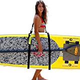 An SUP shoulder carrier for paddle boarding