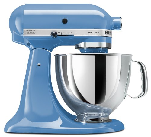 KitchenAid Artisan Series 5-Qt. Stand Mixer with Pouring Shield - Cornflower Blue