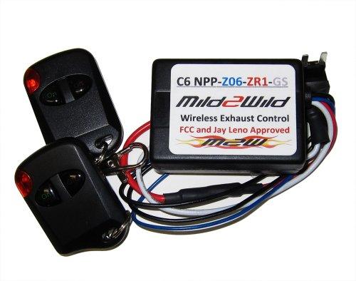 06-13 Corvette Mild2Wild NPP Dual Mode Exhaust Remote Control Switch