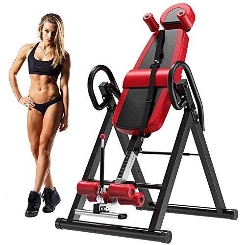 Fantastic Deal! Gravity Heavy Duty Inversion Table Bench Home Fitness Upside Down Stretching Home Gy...