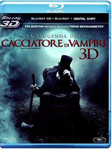 La Leggenda Del Cacciatore Di Vampiri  (Blu-ray 3D);Abraham Lincoln - Vampire Hunter;Abraham Lincoln: Vampire hunter [Italia] [Blu-ray]