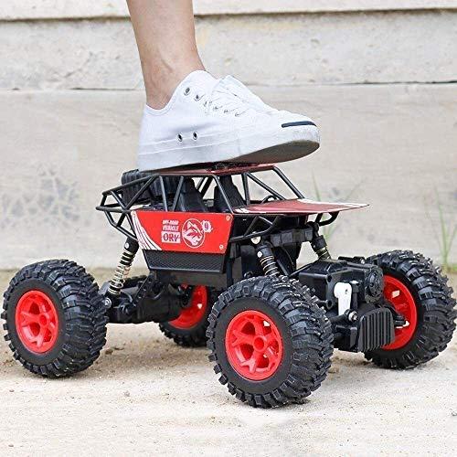 Kikioo Fernsteuerungsauto- 01.20 Off Road RC-Rennwagen 25 Km/h High Speed Elektro Monster Spielzeug-LKW 2,4 GHz Funk Elektro Buggy for Indoor Outdoor Games Geschenke Erwachsene und Kinder (Farbe: