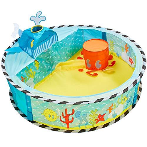 Kid Active 168WHL My First Undersea Baby Ball Pit Launcher Mein erstes Bällebad mit Ballfontäne im Unterwasser-Design, Mehrfarbig
