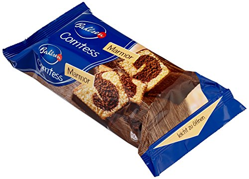 Bahlsen Comtess Marmor - 8er Pack - Zweifarbiger Marmorkuchen mit Kakaogeschmack (8x350g)