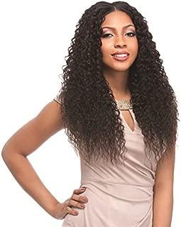 Sensationnel 100% Peruvian Virgin Remi Bundle Hair Bare & Natural Human Hair - FRENCH CURL 7PCS (6 MULTI LENGTH HAIR+FREE CLOSURE, NATURAL/BLACK) (16