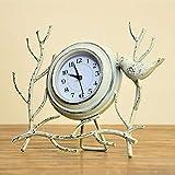 DKEE Moda Reloj Creativo País Europeo Retro Salón Rural Reloj Arte Simple Reloj
