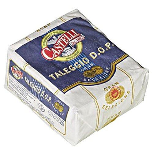 Castelli Taleggio norditalienischer Weichkäse, 48% Fett, 1/4 Laib ca. 600 g