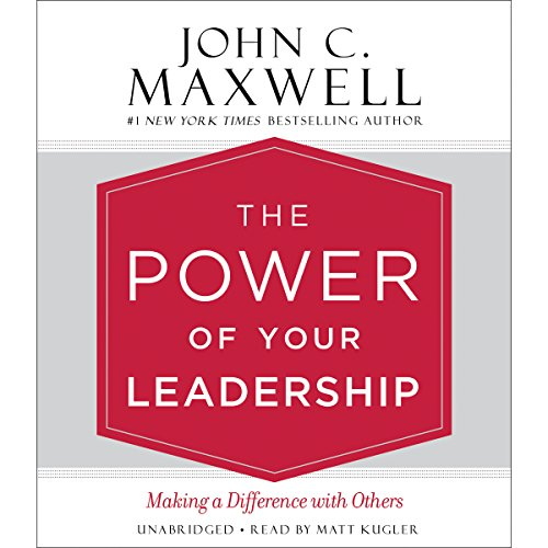 The Power of Your Leadership audiobook cover art